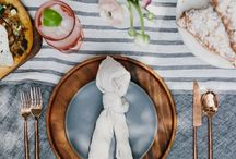 eat// A L   F R E S C O / Outdoor al fresco dining style. Table settings and recipes for summer suppers and barbecues