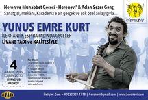 Horon Kemençe Türkü etkinliklerimiz
