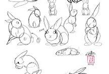 Szkice zwierząt