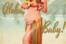 My work (pinup Mom) / Pinup with a baby belly...