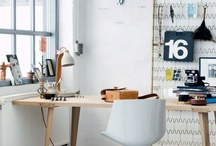 Studio & Work Spaces. / Inspiring studios & work spaces & all things for them.