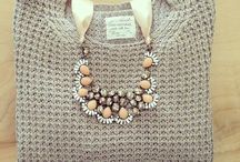 Chunky Knit and Statement Necklace
