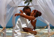 Caribbean Weddings / Imagine standing with your toes in the sand, looking into the eyes of that special person as the sun sinks beneath the sea with the sound of water lapping at the beach as the background for those special vows.