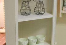 Oma's corner cupboard