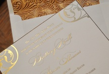 Wedding Invitations/ Stationary / Custom Wedding Invitations www.beubrides.com / by Be U Weddings