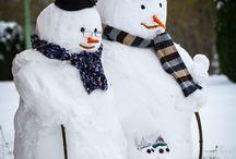 Vánoce a sníh :D