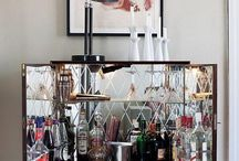 Charis White - drinks cabinets / Check out how to Style The Perfect Drinks Cabinet (trolley/drinks tray) at www.chariswhite.com