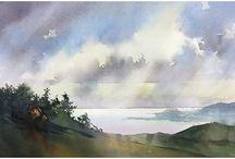 Акварель - Небо