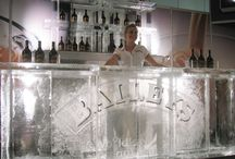 Ice Bars / A selection of Functional ice bars that can be used for corporate events, celebratory parties, weddings or just for fun.