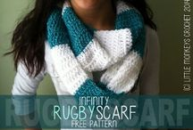 Crochet Scarves / There is just something about a scarf accessory, It puts the final touch on your outfit, provides style, provides warmth.  This just names a few uses can you think if others?