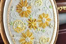 bonito:ovalo bordado c margaritas -circulos