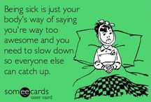 Funnies for when you're Sick