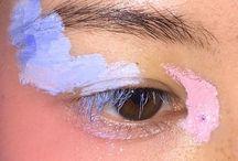 artsy eyes, lips & faces