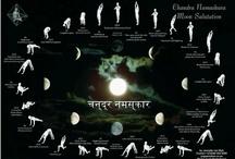 Chandra Namaskāra / Appreciating the different variations of this ancient, beautiful sequence, Chandra Namaskara, the Moon Salutation.