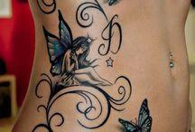 Schmetterlingstätowierungen