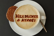 Headlines & Heroes / Specializing in gifts for men; like the latest in style and design, culture, and entertainment from books to games to sports, DVD's and everything in between.