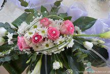 Kvetinová výzdoba svadby / Detaily robia veci dokonalé. Kvetinová výzdoba svadby dodá svadobnej sále tú správnu atmosféru.