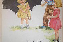 Vintage books / School readers and vintage story telling.