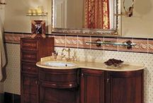Antique bathroom vanity / Antique bathroom vanity, Most present day homes are designed with modern architecture and modern bathrooms. Older residences have antique decorations all over the house and a modern bathroom would look inappropriate. A very attractive way to decorate an antique bathroom is to use an antique bathroom vanity. Antique bathroom vanities are not seen in bathrooms everyday and thus give a mesmerizing feeling.