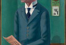 Male figure in ART