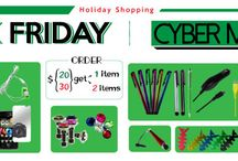 Black Friday - Cyber Monday - Holiday Shopping / Now, come to @Acetag to get a lot of items with discount price and you can get a lot of gift including, stylus pen, screen protector and decal sticker! Let get to your phone the new outfits when Chirstmas is coming!