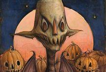 The Hallowe'en Art of William Basso