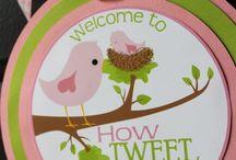 Baby Shower - Baby Bird Theme