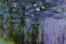 Monet / Artwork by Monet / by Shel Trost