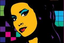 Amy  Winehouse / a photo  Amy  Winehouse