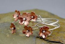 Jewelry - Botanical Theme / Jewelry inspired by Nature with botanical theme. Jewellery / by Chaerea Jewellery Design