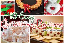 Christmas Decorations, Food and Party Ideas / by Suzanne Bonham