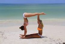 Gymnastics poses