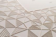 Geometric papercut