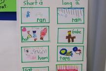 Kindergarten - Word Work / by Lindsay Helling