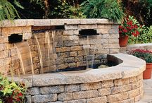 Water Features and Fountains / Water features, spill over spas, fountains
