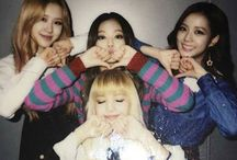 BLACKPINK / first bias : rosé bias now : rosé & lisa bias wrecker : jisoo & jennie  first song : boombayah favorite title song : whistle favorite non-title : -