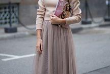 Образ с юбками