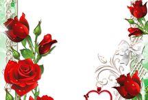 ruusu kirjepaperi