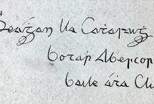 Gaelic Type/Text/Script