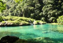 Amazing Picture Perfect Photography of Semuc Champey, Guatemala / Here is a new post to reveal the beauty of Semuc Champey along with our last post. Explore the dazzling beauty of Guatemala once again. Here is some Picture Perfect Photography of Semuc Champey, Guatemala. Take a close look to the limestone bridges and pools and the Cahabon river.