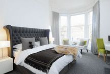 Boutique Hotel Inspired Bedrooms / Hotel bedrooms are sometimes so stunning that you could give up your sightseeing plans and stay indoors.  Style your own boutique suite with a few simple steps to feel as if you're on a constant vacation. www.ergoflex.co.uk
