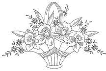 Crafts - Flower Baskets