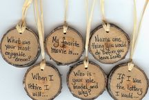 Natural Wood Tag Ideas / by ThePlaidBarn