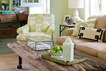 Living Room Ideas / by Mary Olsen