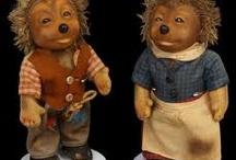 Micki and Mecki ! Steiff Hedgehogs