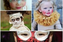 Halloween Make-up Ideas For Spooky Children's Faces