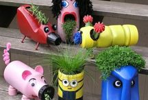 virág újrahasznosítás