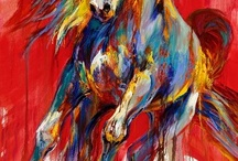 Картины - Конь