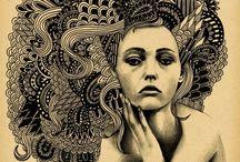 Zentangle / by Katie Brannon Weas