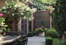 Patio / Romantische patio